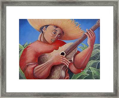 Hidalgo Campesino Framed Print