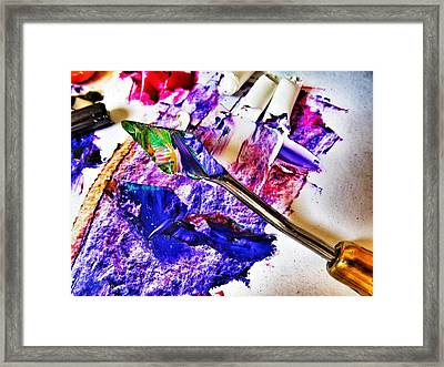 Hidden Art Framed Print