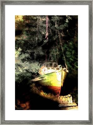 Hidden Away Framed Print by Barbara D Richards