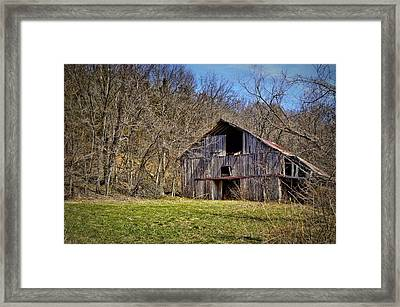Hidden Barn Framed Print