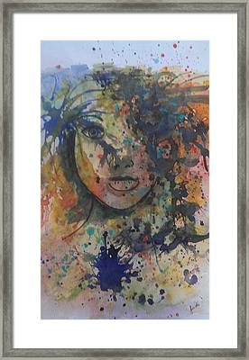 Hidden Beauty 3. Framed Print