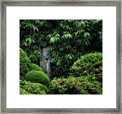 Hidden Buddha Framed Print by Bill Cannon