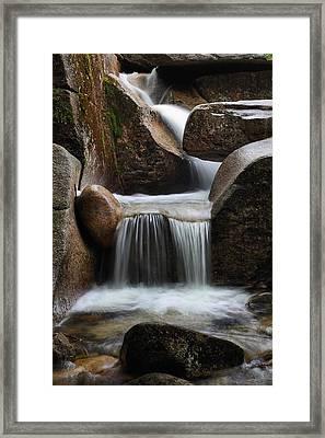 Hidden Cascade Framed Print by Mike Farslow