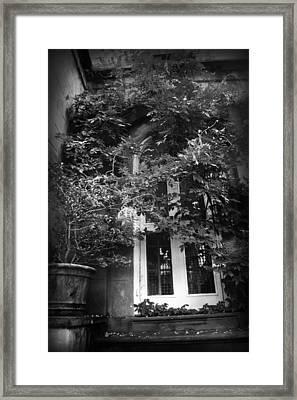 Hidden Door Framed Print by Kelly Hazel