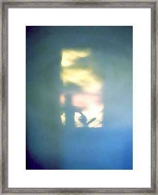 Hidden Doorway Within Framed Print