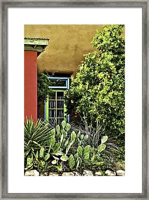 Hidden Door Framed Print by Maria Coulson