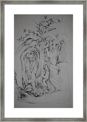 Hidden Faces Framed Print by Moshfegh Rakhsha