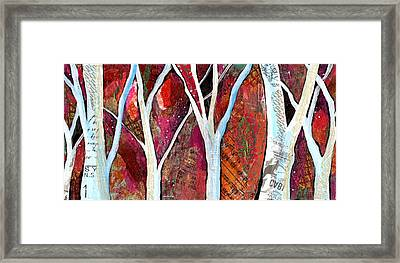 Hidden Forest I Framed Print by Shadia Derbyshire