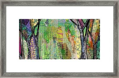 Hidden Forests II Framed Print by Shadia Derbyshire