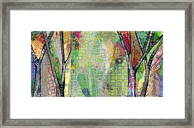 Hidden Forests IIi  Framed Print by Shadia Derbyshire