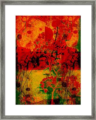 Hidden Garden Framed Print by Ann Powell