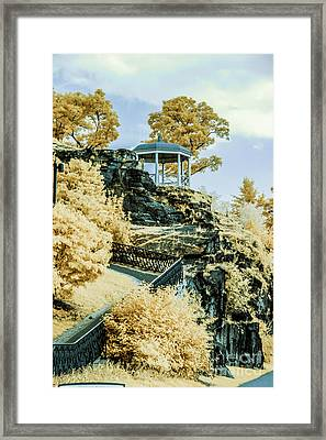 Hidden Gazebo Framed Print