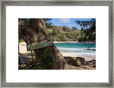 Framed Print featuring the photograph Hidden Gem by Suzanne Luft