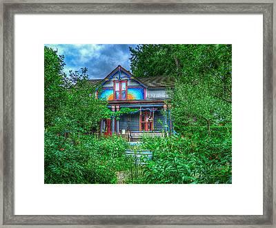 Hidden Gems Of Ann Arbor #12 Framed Print