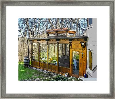 Hidden Gems Of Ann Arbor #4 Framed Print by MJ Olsen