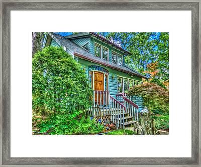 Hidden Gems Of Ann Arbor #7 Framed Print