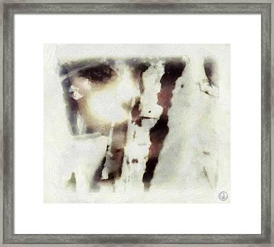 Hidden Framed Print by Gun Legler