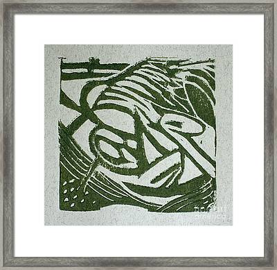 Hidden Horse Framed Print