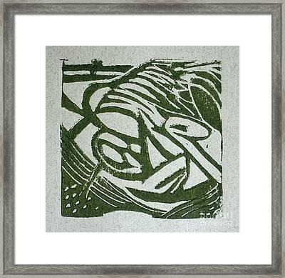 Hidden Horse Framed Print