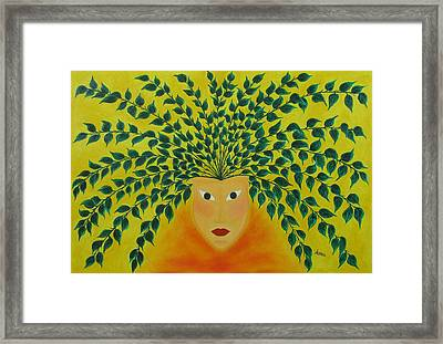 Hidden Identity  Framed Print by Marianna Mills