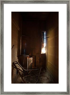 Framed Print featuring the photograph Hidden In Shadow by Fran Riley