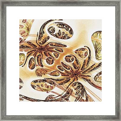 Hidden In The Sand Framed Print by Anastasiya Malakhova