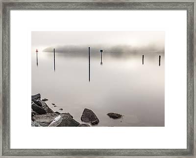 Hidden Island Framed Print