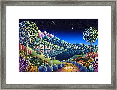 Hidden Lake 22 Framed Print