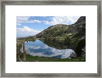Hidden Lakes Framed Print