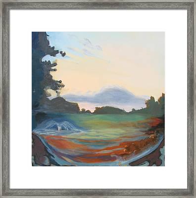 Hidden Landscape Framed Print