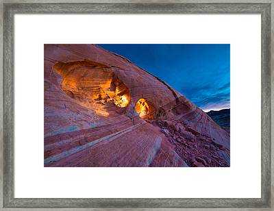 Hidden Light Framed Print by Chad Dutson