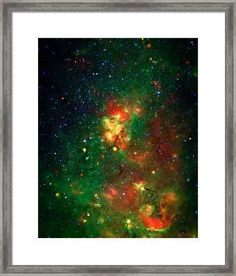 Hidden Nebula 2 Framed Print by Jennifer Rondinelli Reilly - Fine Art Photography