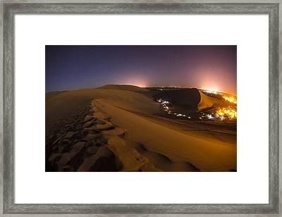 Hidden Oasis Framed Print by Aaron Bedell