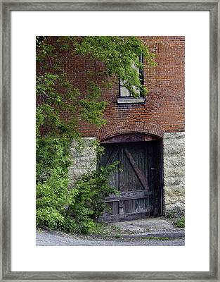 Hidden On Main No. 2 Framed Print
