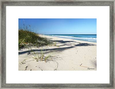 Hidden Palms Framed Print