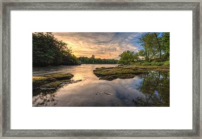Hidden River Framed Print by Everet Regal