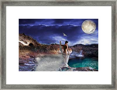 Hidden River Framed Print by Liane Wright
