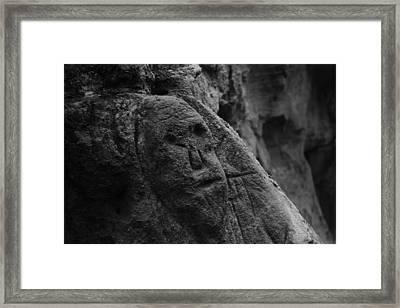 Hidden Sask. Relic Framed Print