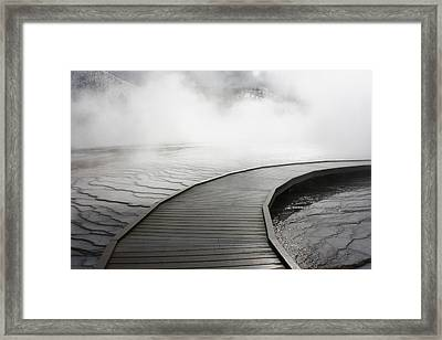 Hidden Spectrum Framed Print by Jon Emery