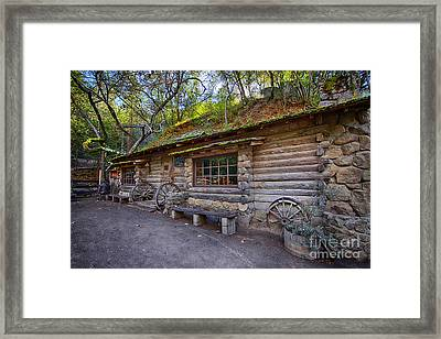 Hidden Tavern Framed Print by Jason Abando