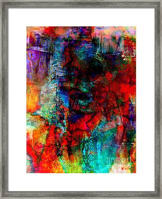 Hidden Treasure Framed Print by Fania Simon