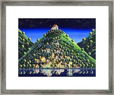 Hidden Village 21 Framed Print by Andy Russell