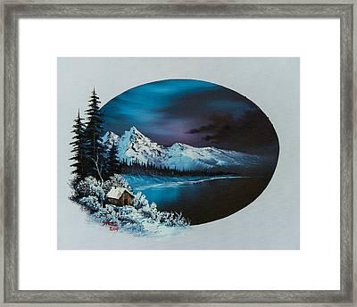Jack Frost Moon  Framed Print by C Steele
