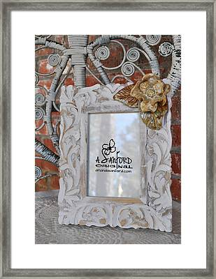 Hide And Chic Framed Print by Amanda  Sanford