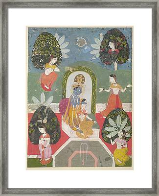Hide-and-seek Framed Print by British Library