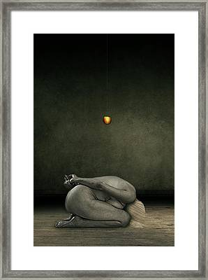 Hide My Self Framed Print by Johan Lilja