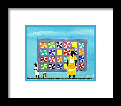 Gullah People Framed Prints