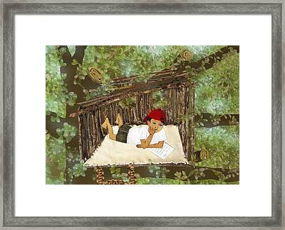 Hideaway Framed Print by Julia and David Bowman
