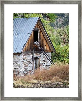 Hidi Hole Framed Print