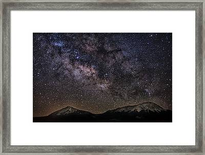 Hiding In The Dark Framed Print by Mike Berenson